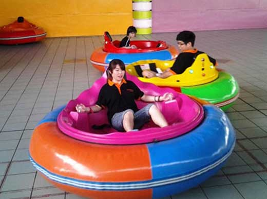 What makes inflatable bumper cars popular