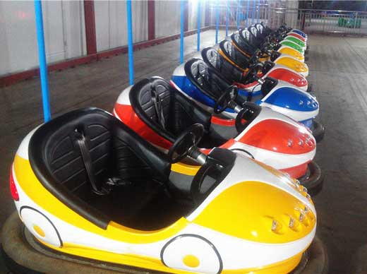 what makes electric powered bumper cars popular