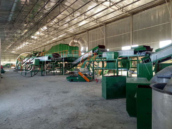 waste recycling equipment for sale