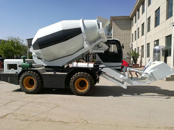 self-loading truck concrete mixers