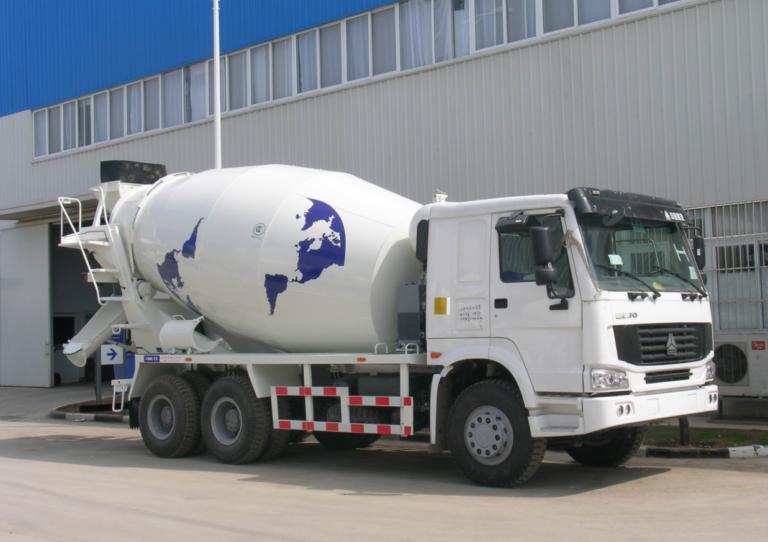 concrete mxier truck