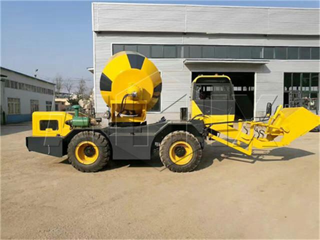 mobile self loading concrete mixer buy