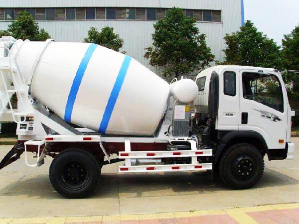 construction mixer truck