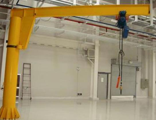 Instantly Transform Your Workshop With A Column-Mounted Jib Crane