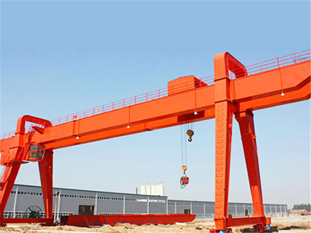China double girder gantry crane